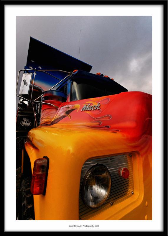 Mack truck, Nesles, France 2011