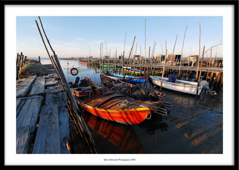 Palafittic harbour, Carrasqueira, Portugal 2009