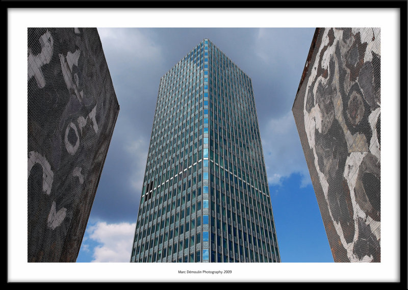 Jussieu tower, Paris, France 2009