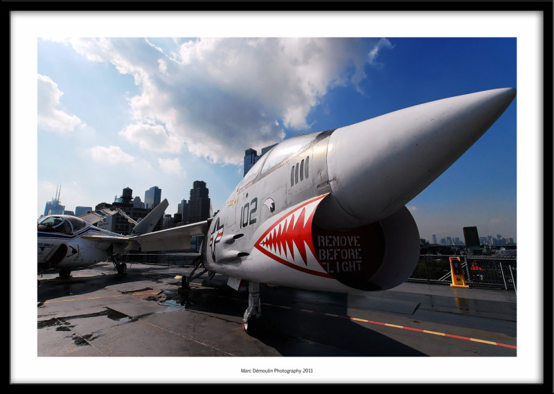 USS Intrepid flying deck, New-York, USA 2011
