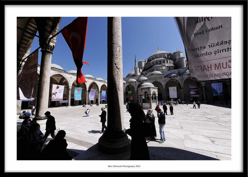 Mosque, Istanbul, Turkey 2012