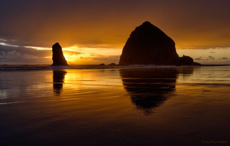 Cannon Beach Sunset II