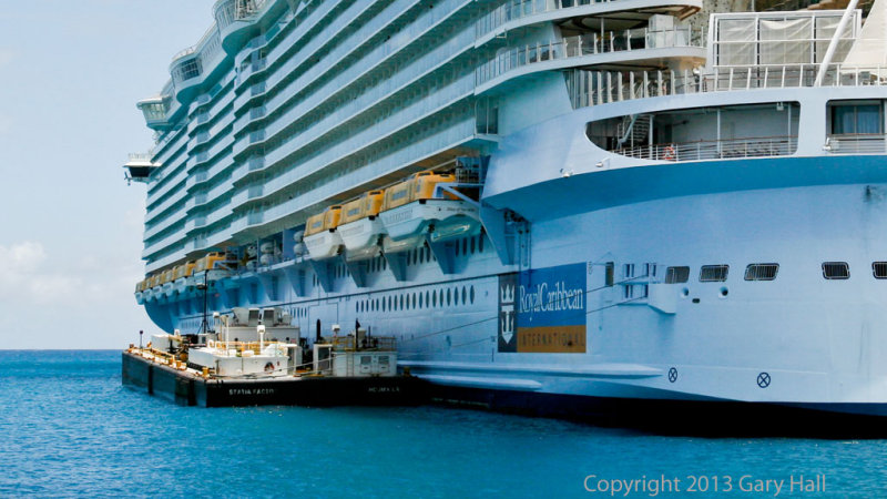 Port Side Refueling St Martin Dock Photo Gary Hall Photos At - Port side of a cruise ship