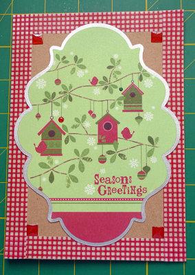 Christmas birdhouses