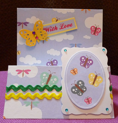 Butterfly stepper and panel card