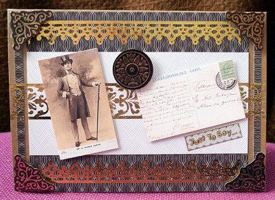 A Gentleman's card
