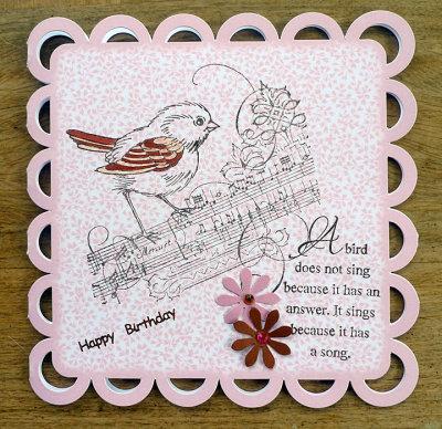Bird and verse