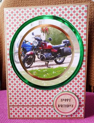 Motorbike in the frame