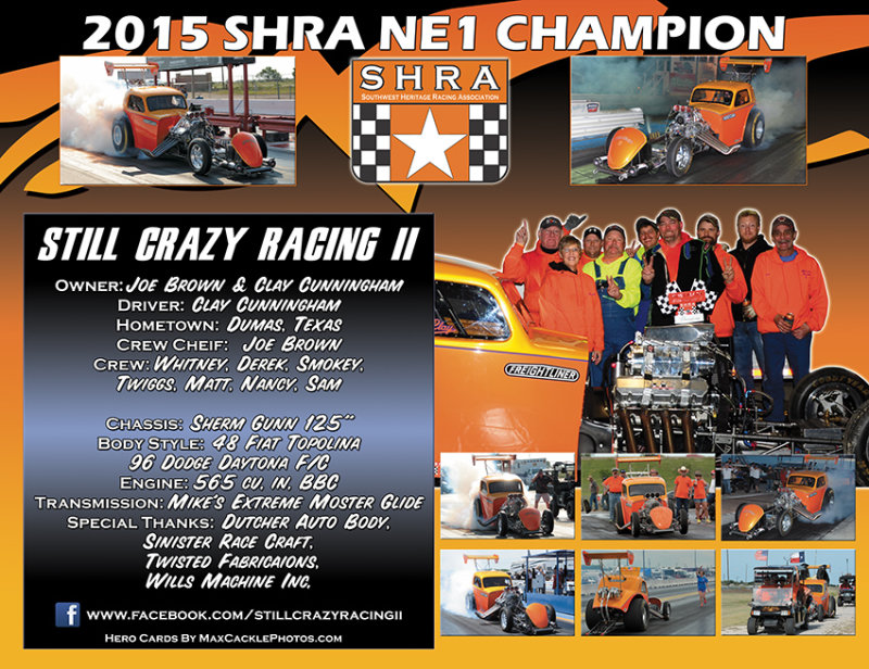 Still Crazy Racing SHRA 2016