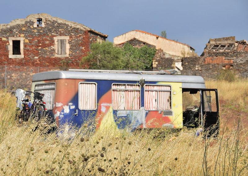 Village abandonné de Celles
