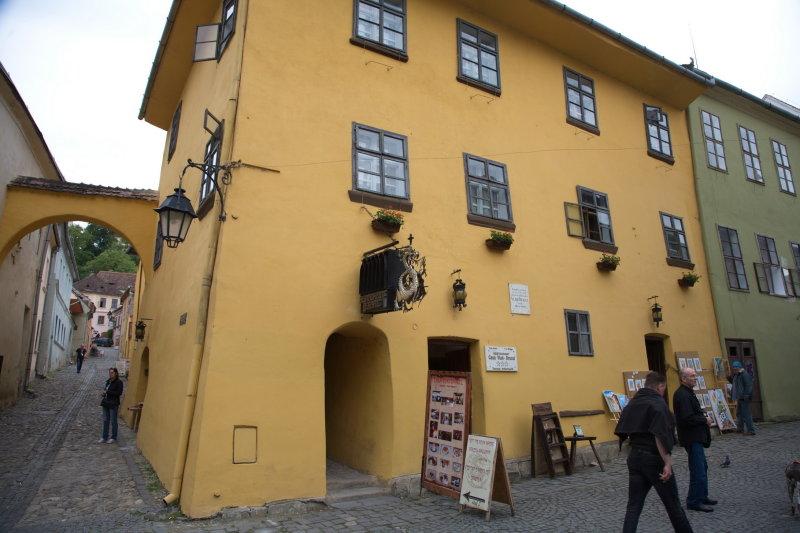 House where Dracula the Impalor was born 1431.jpg