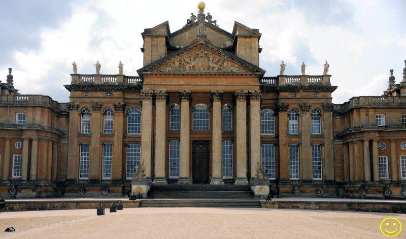 Blenheim Palace. Wed 26.
