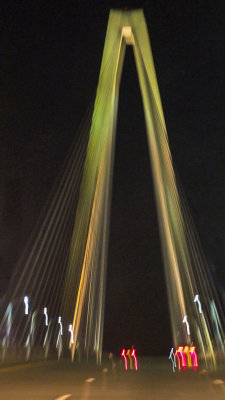 Homeward bound, New Cooper River Bridge, Charleston, South Carolina, 2013