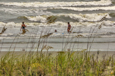 The power of the sea, Isle of Palms, South Carolina, 2013