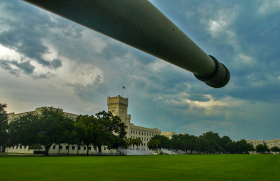 Parade Ground, The Citadel  -- the Military College of South Carolina, Charleston, South Carolina, 2013