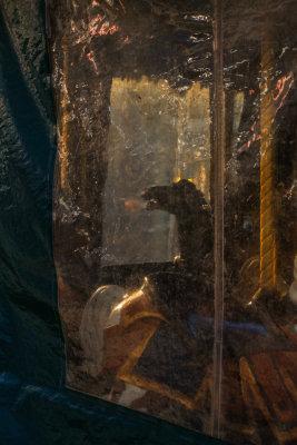 Le Carousel at dawn, Bryant Park, New York City, New York, 2013