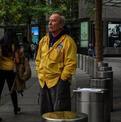 Patience, Columbus Circle, New York City, New York, 2013
