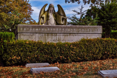 Guardian angel, Green-Wood Cemetery, Brooklyn, New York, 2013