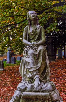 Mourning, Green-Wood Cemetery, Brooklyn, New York, 2013