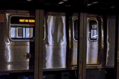 Subway car, New York City, New York, 2013
