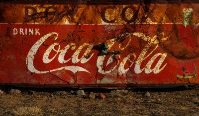 Coca Cola signage, Pie Town, New Mexico, 2014