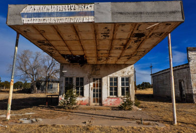 Gas station, Pie Town, New Mexico, 2014