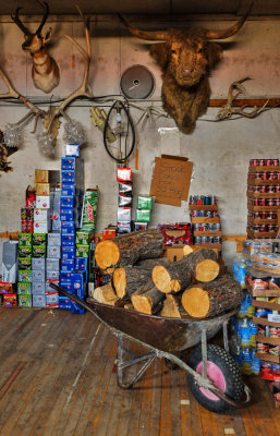 Storage Room, Country Store, Quemodo, New Mexico, 2014