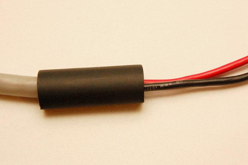 Slide Heat Shrink Over Cable