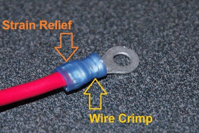 Double Crimps For Insulated Terminals