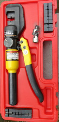 Making your own battery cables photo gallery by compass marine how harbor freight hydraulic crimp tool greentooth Images