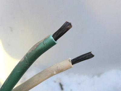 Untinned Wire