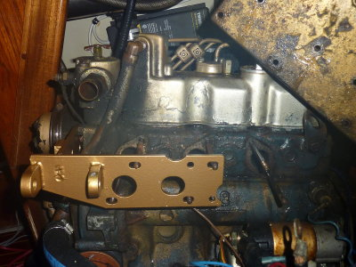 New Alternator Bracket
