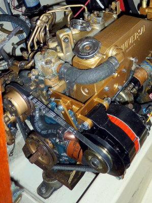 Alternator Bracket Installed