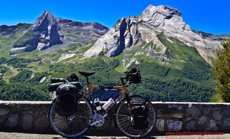 448    David touring France - Jamis Nova touring bike