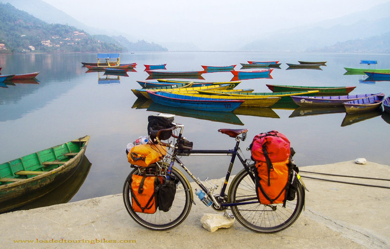 455    Darby touring Nepal - Trek 520 touring bike