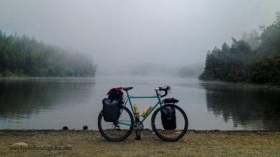451    Matt touring Washington - Surly Crosscheck touring bike