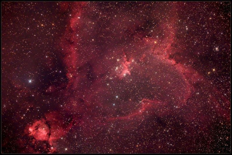 The Heart nebula IC 1805