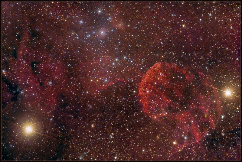 The Jellyfish nebula IC 443