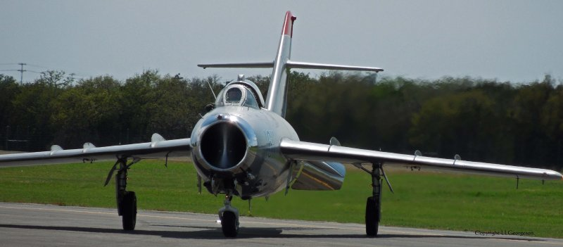 Bluebonnet Airshow (Mig 17)