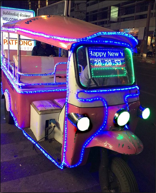 Happy New Year Tuk Tuk