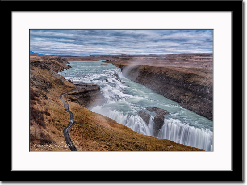 Overview of Gullfoss