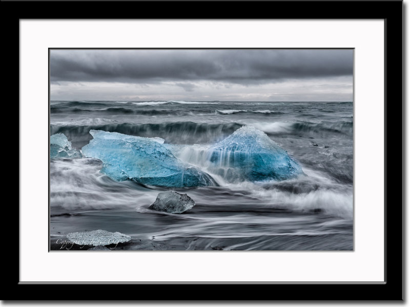 Remains of Glacial Ice