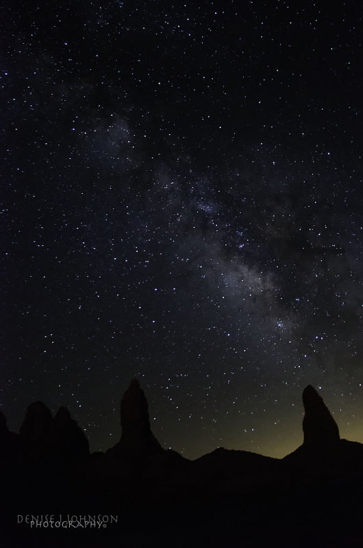 A Beautiful Night With The Milky Way