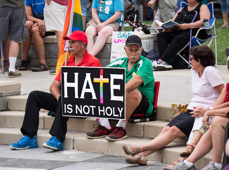SIL40026 Hate is not holy