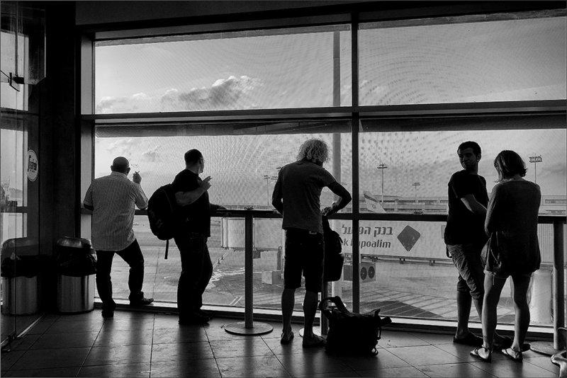 Smoking Lounge at Ben Gurion Airport