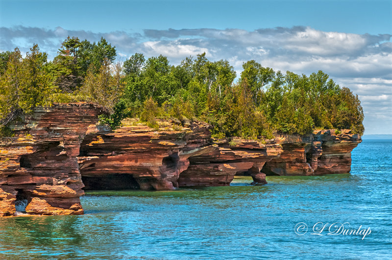 82 - Bayfield:  Apostle Island Caves, Summer