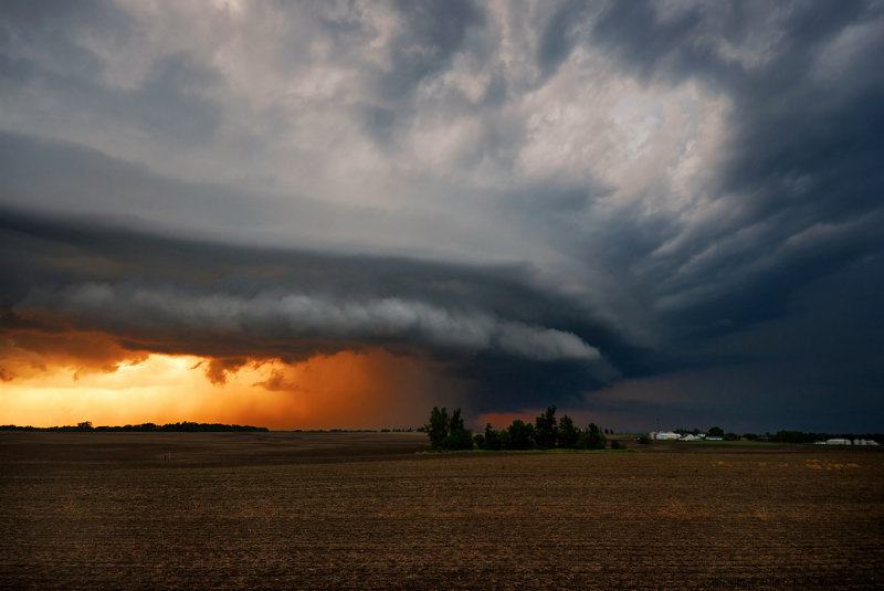 Supercell Storm near Maysville, Missouri