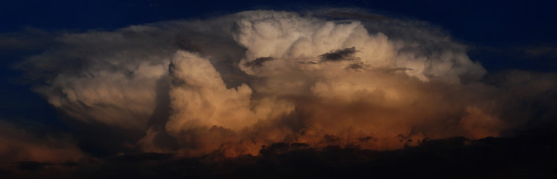 Sunset Cumulonimbus Display