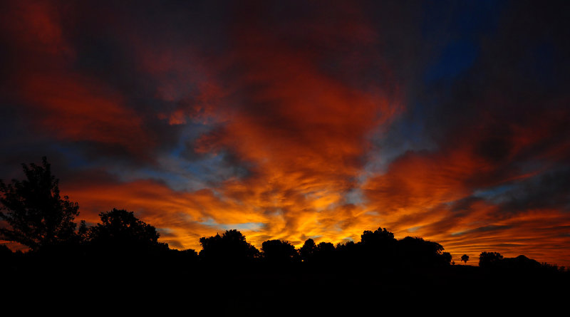Summer Sunrise Panorama