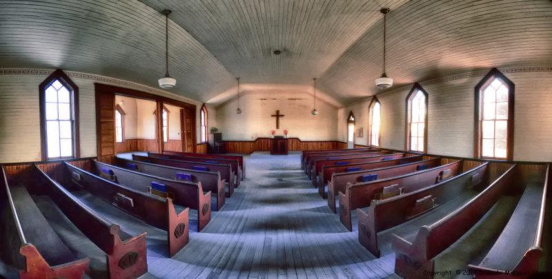 Mount Zion Church Interior (Color)